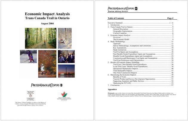 Economic Impact Analysis for PDF