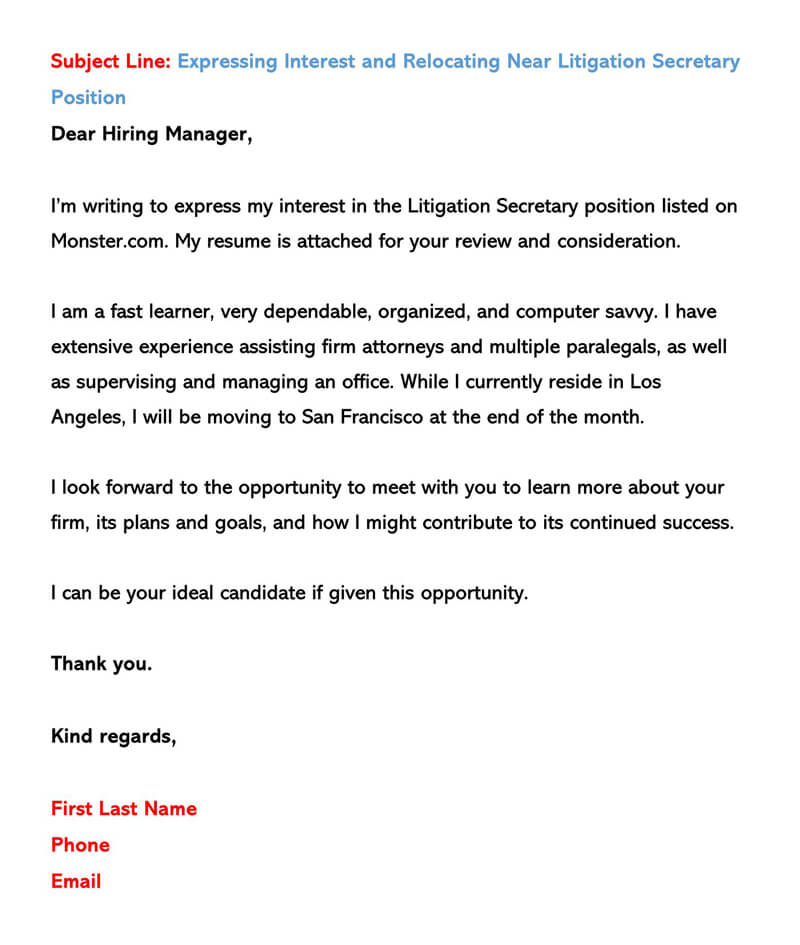 Email With Cover Letter Attached from www.wordtemplatesonline.net
