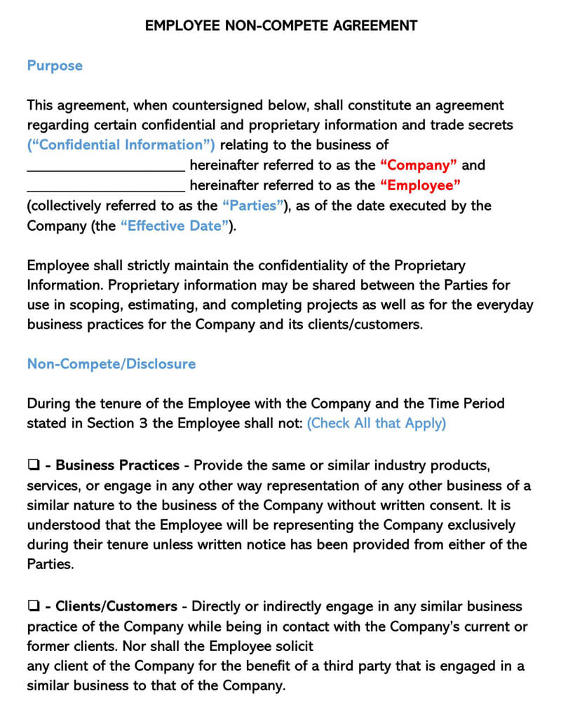 Employee-Non-Compete-Agreement-Form