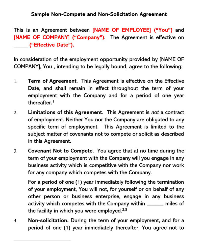Employee-Non-Solicitation-Agreement-Template