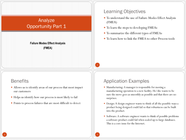 5+ FMEA Examples for Excel, PowerPoint and PDF