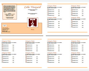 Food Menu Template U2013 An Easy Way To Make A Food Menu  How To Make A Food Menu On Microsoft Word
