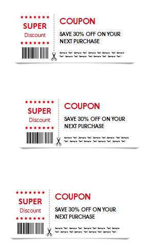 Attractive Free Printable Gift Coupon Template In Coupon Sample Template