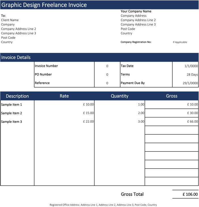 Download Invoice Template Quickoffice Rabitah