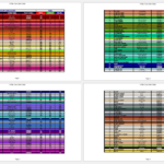 HTML RGB Color Code Chart