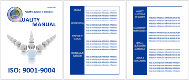 Handbook Template for Word