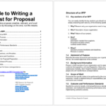 How to Write a Request for Proposal (Guide)