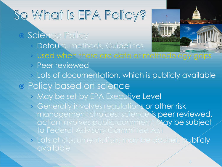 Human Health assessment