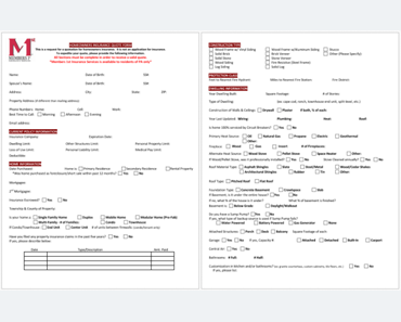 Insurance Quotation Template (FI)