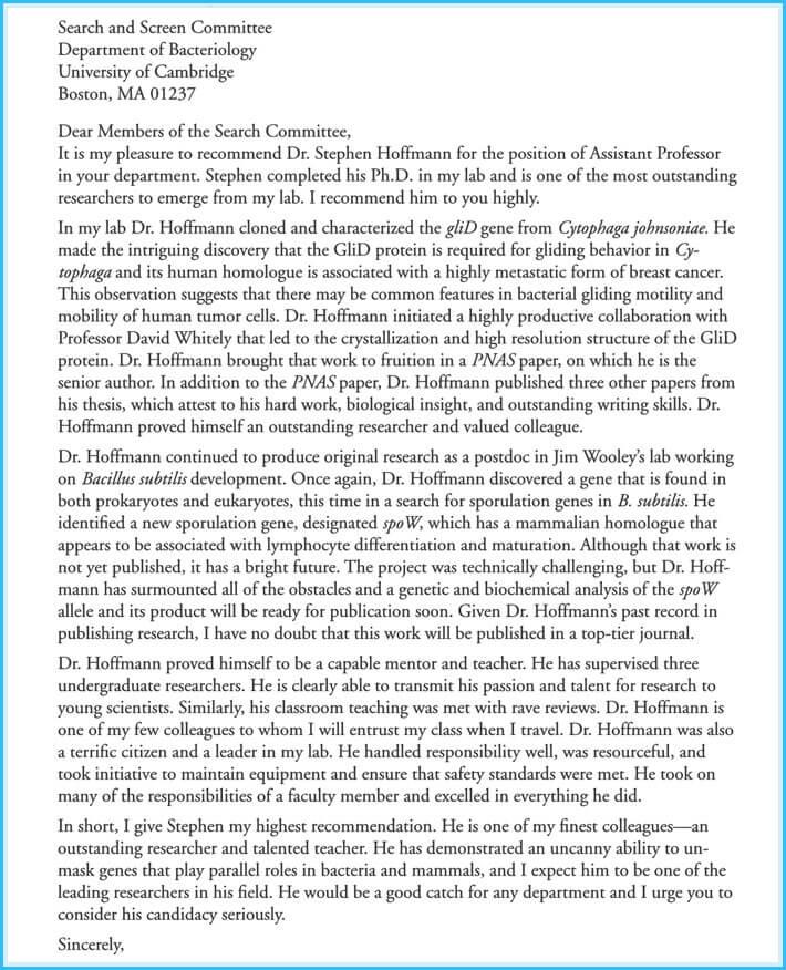 editable job reference letter