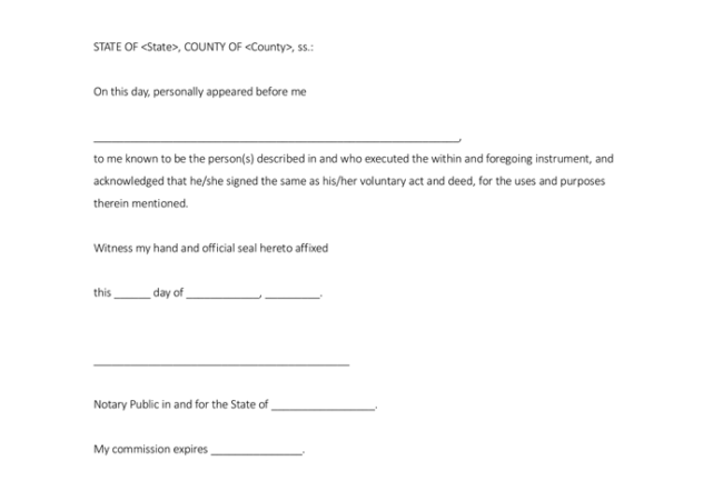 Sample Of Notarized Letter from www.wordtemplatesonline.net
