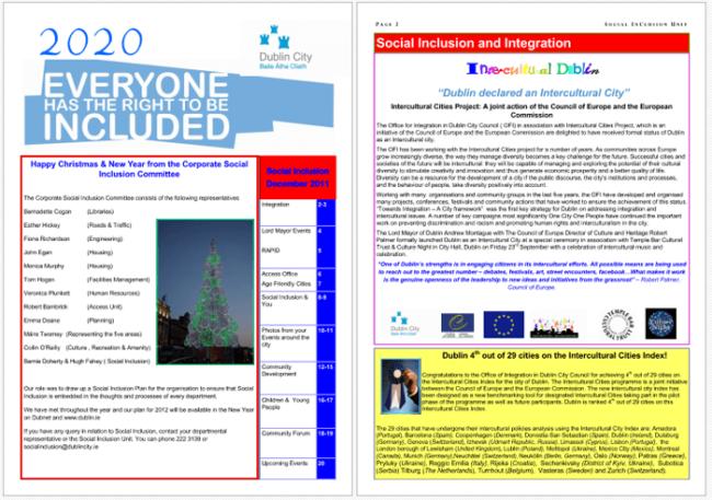 Magazine Template For PDF