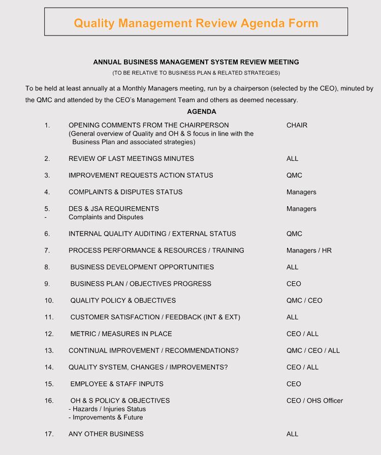 Strategic management meeting agendas 10 free templates strategic management agendas format accmission Gallery