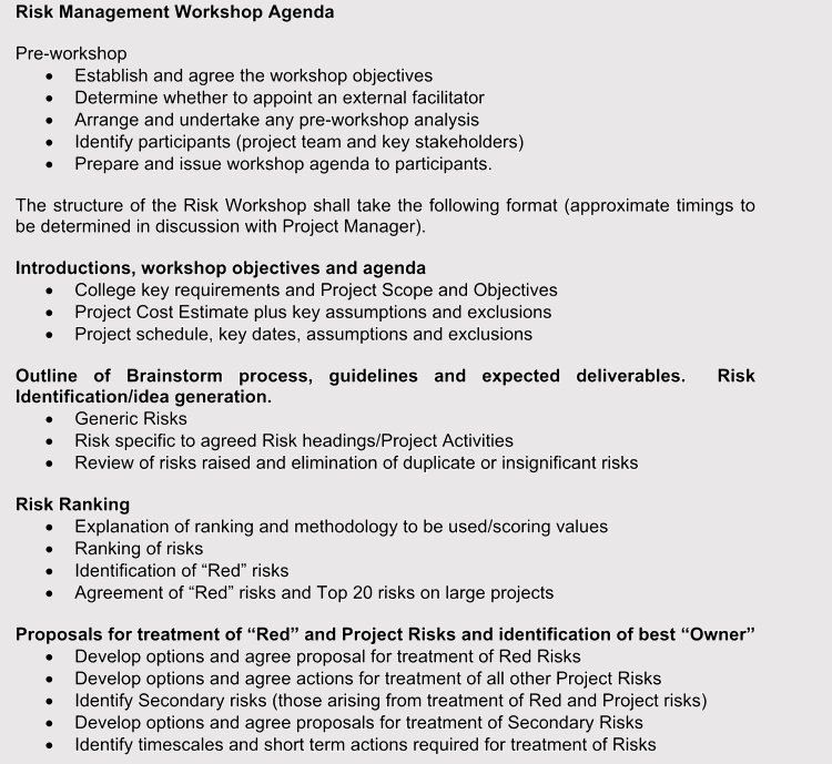 printable strategic management agendas