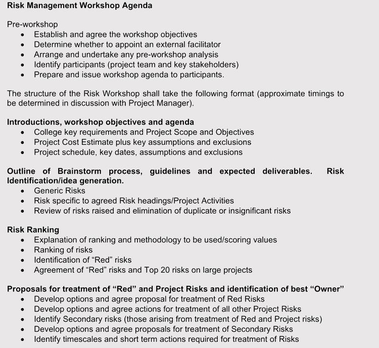 printable strategic management agendas