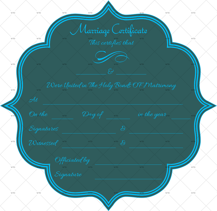 marriage certificate download