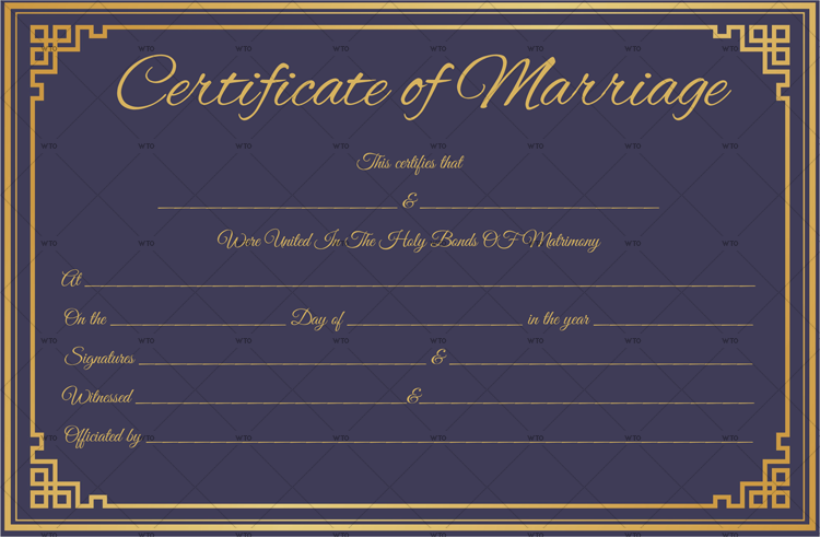 online application for marriage certificate