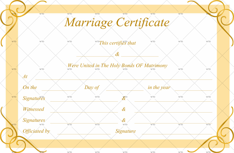 marriage certificate qld