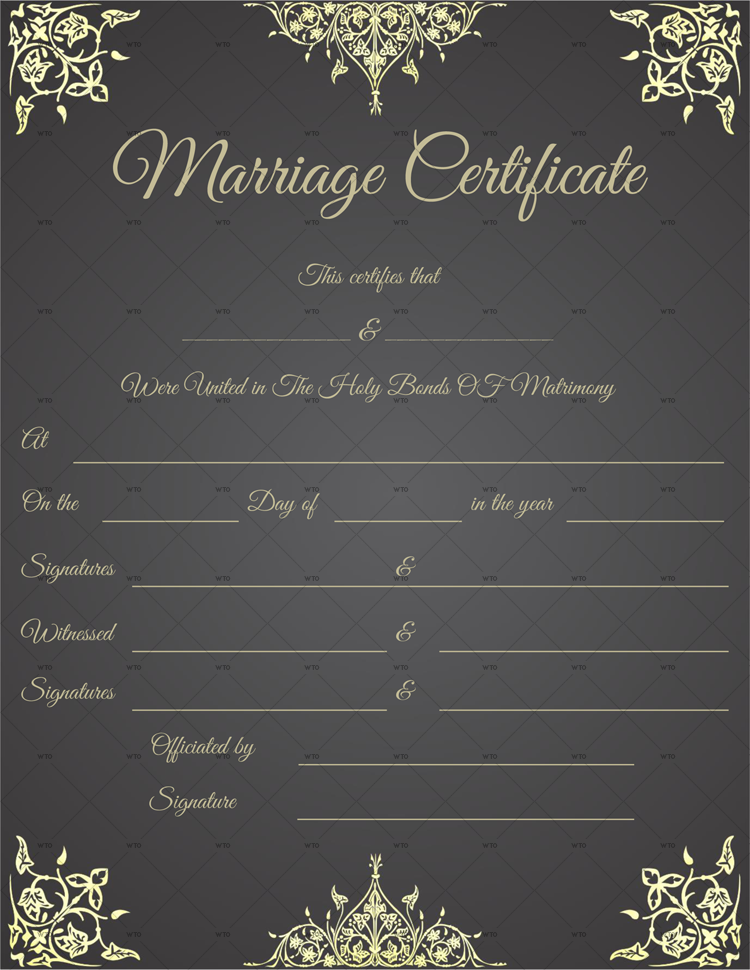 view marriage certificate online