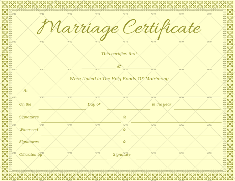register marriage certificate