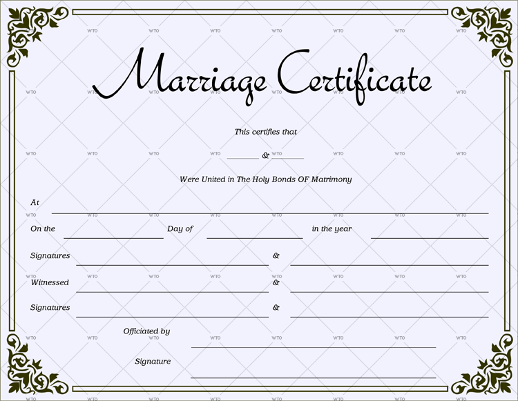 marriage certificate texas