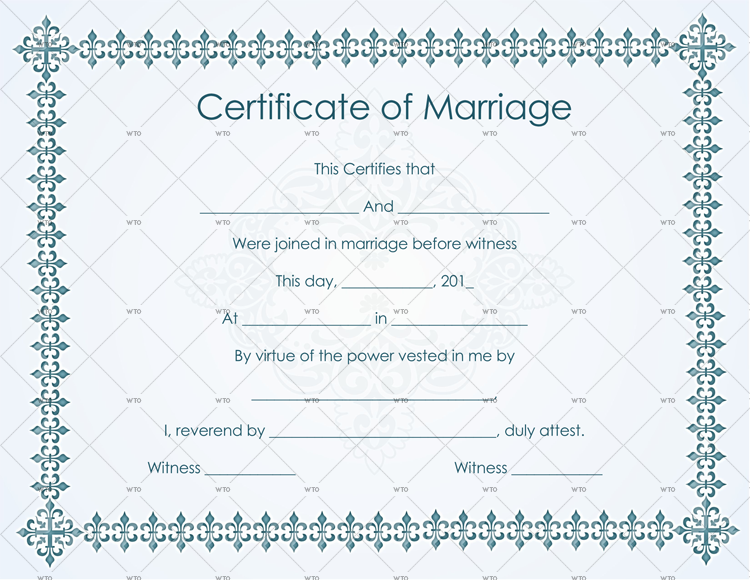 marriage certificate bc