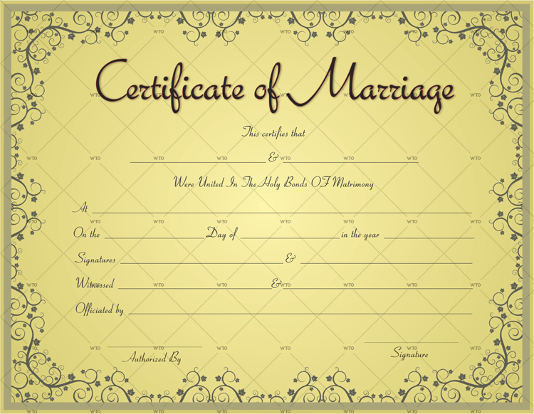 print marriage certificate