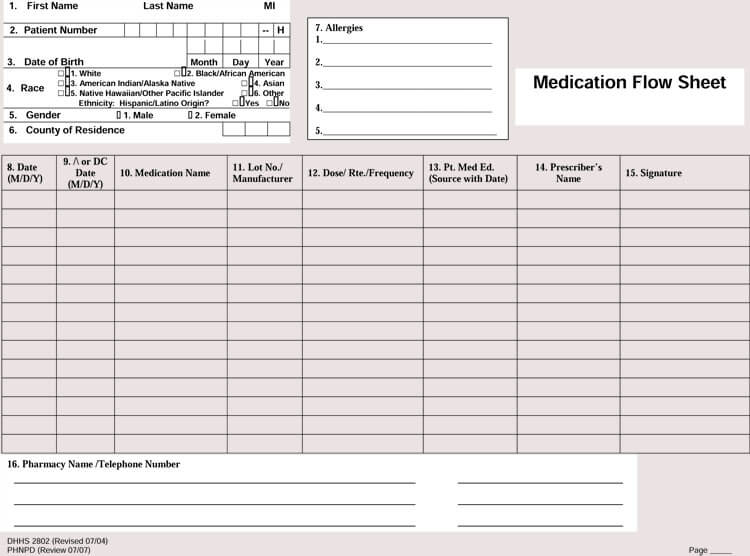 It's just an image of Free Printable Medication Log regarding sheet
