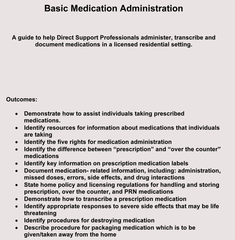 Monthly Medication Sheet Example
