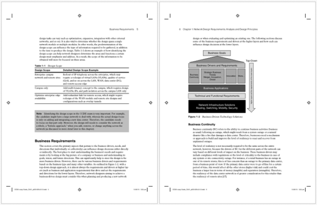 Network Design Requirements Analysis Template