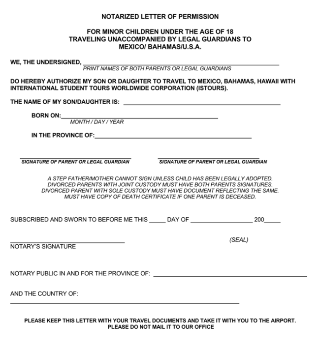 Law Papers To Sign Copy For Wedding: 25+ Notarized Letter Templates & Samples (Writing Guidelines