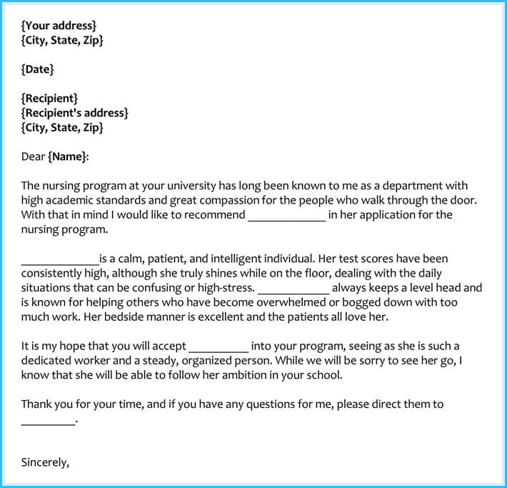 School Recommendation Letter Sample Medical School Recommendation