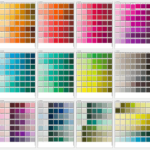 PMS Color Chart Template