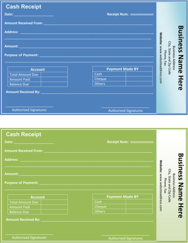 Payment Receipt Template 5 Quick Receipt Maker Formats – Payment Receipt Sample
