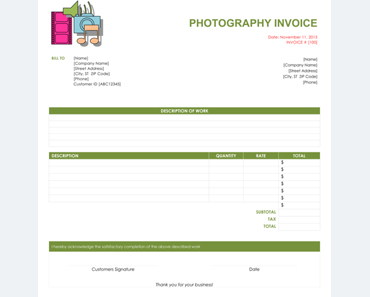 Pro Forma Invoice Template - 5 Free Pro Forma Invoices