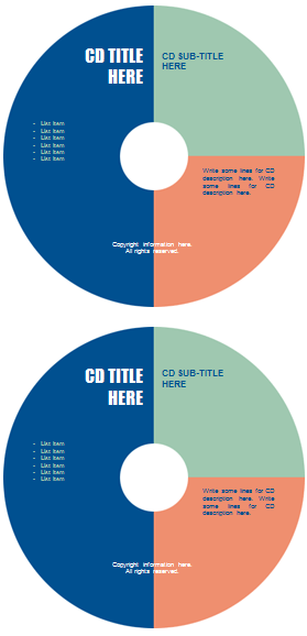 word cd label templates