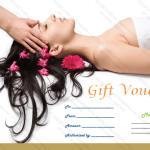 Printable spa gift certificate template