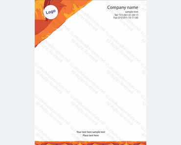 Professional Letterhead Template - Templates for Microsoft® Word