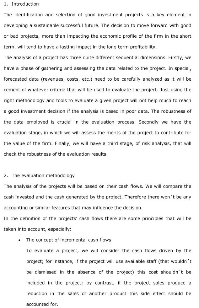 Project Analysis 1