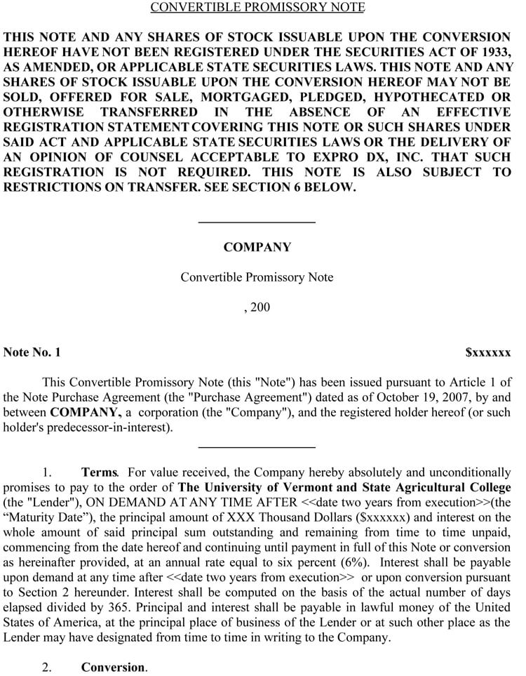 38 Free Promissory Note Templates Amp Forms Word Pdf
