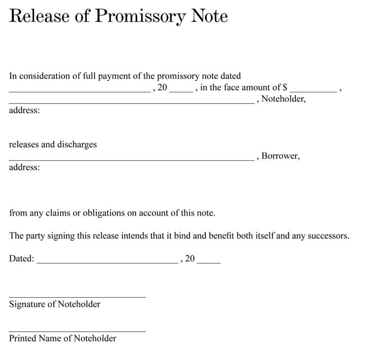 38+ Free Promissory Note Templates & Forms (Word