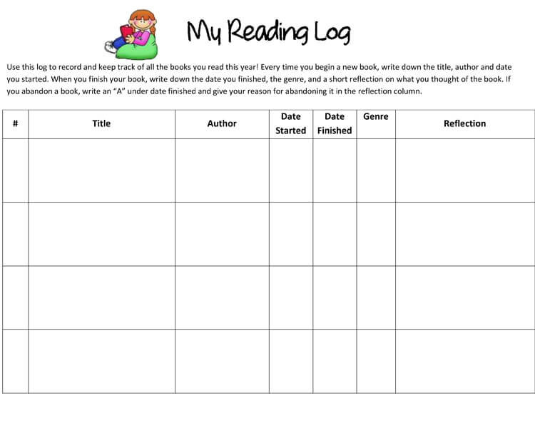 14 Free Reading Response Worksheet Templates Word PDF