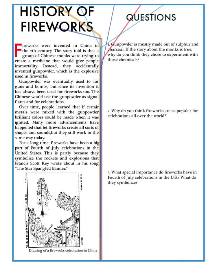 Reading Response template Pdf