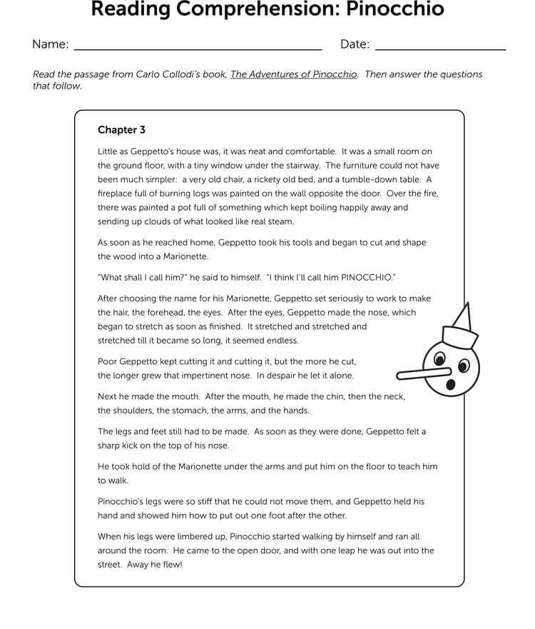 download Reading Response Worksheet