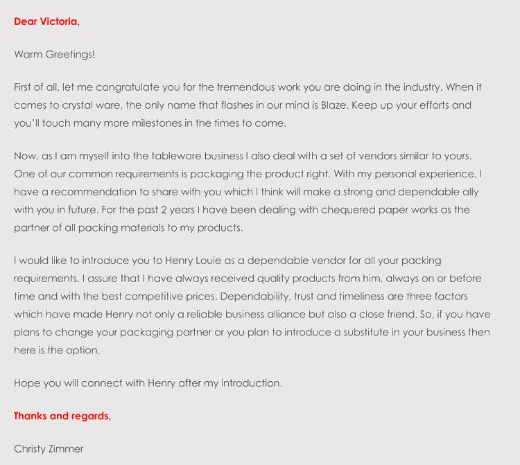 printable recommendation letter