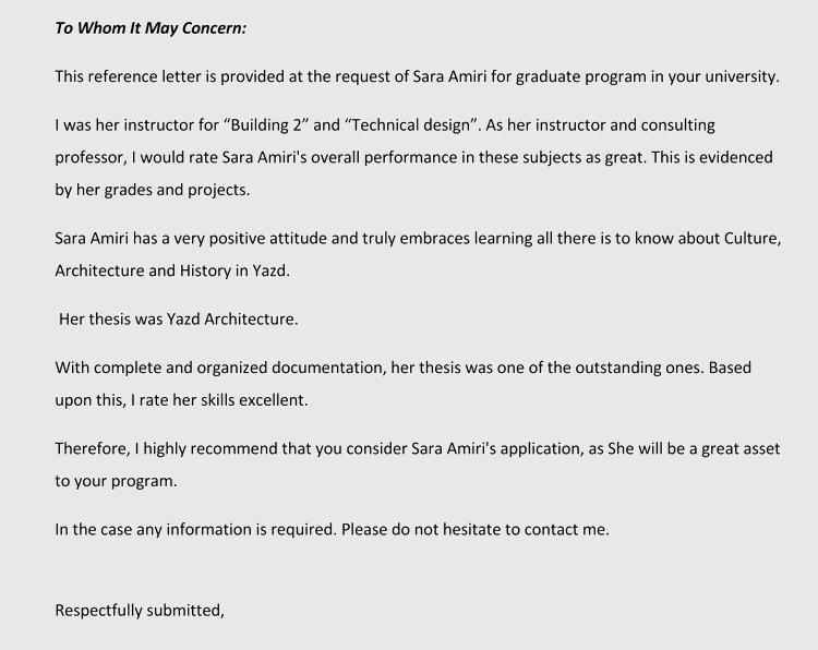 Professor recommendation letter request akbaeenw professor recommendation letter request altavistaventures Choice Image