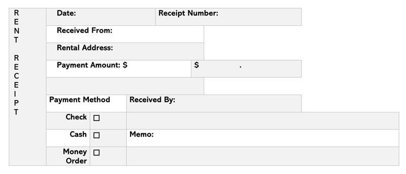 Rent Receipt 13