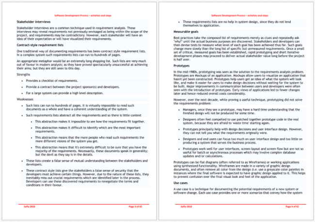 Perfect Requirement Analysis Template Example