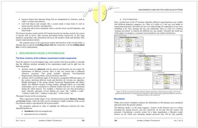 Requirements Analysis for System