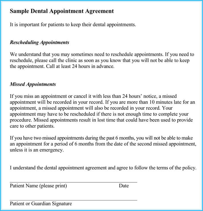 reschedule appointment letter 7 sample letters and templates